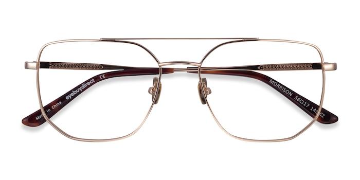Gold Morrison -  Metal Eyeglasses