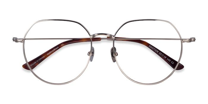 Silver Emotion -  Metal Eyeglasses