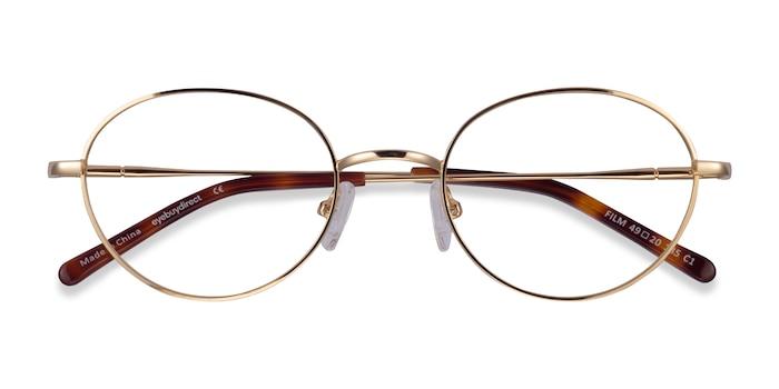 Gold Film -  Geek Metal Eyeglasses