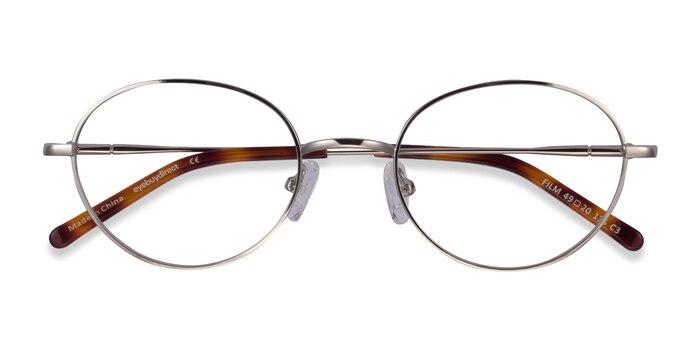 Silver Film -  Geek Metal Eyeglasses