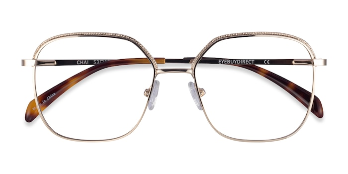 Light Gold Chai -  Metal Eyeglasses