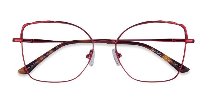 Burgundy Rapture -  Metal Eyeglasses