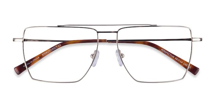 Silver Perspective -  Metal Eyeglasses