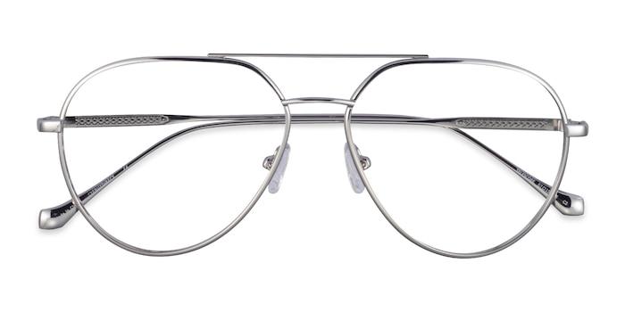 Silver Telescope -  Metal Eyeglasses