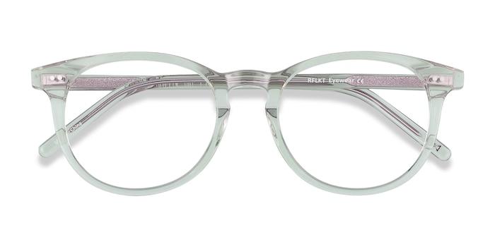 Clear Jade Aura -  Fashion Acetate Eyeglasses