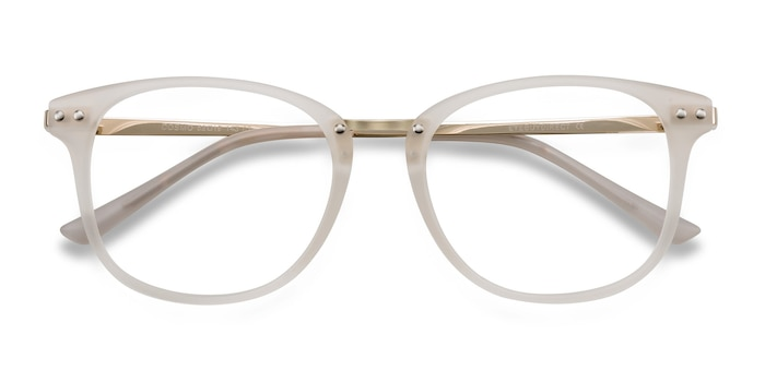 White Cosmo -  Metal Eyeglasses