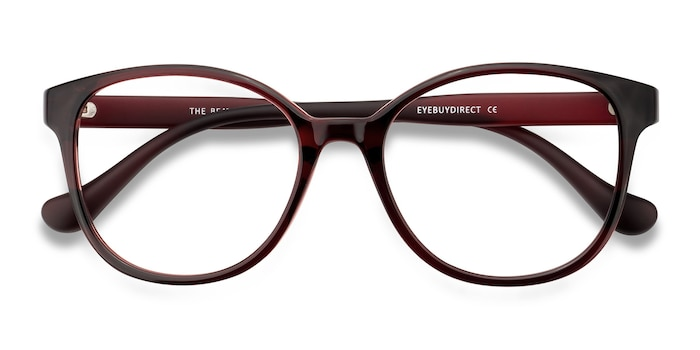 Burgundy The Beat -  Plastic Eyeglasses