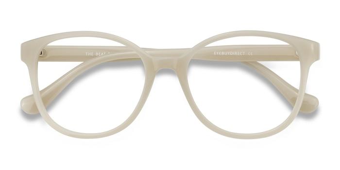 White The Beat -  Plastic Eyeglasses