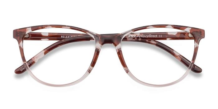 Floral Release -  Plastic Eyeglasses