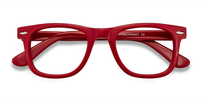 Raspberry Blizzard -  Geek Acetate Eyeglasses