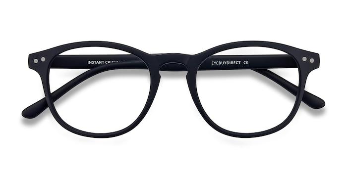 Matte Navy Instant Crush -  Plastic Eyeglasses