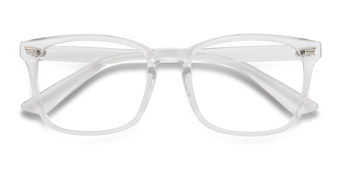 Clear Uptown -  Lightweight Plastic Eyeglasses