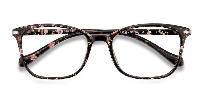 Pink Floral Nola -  Plastic Eyeglasses