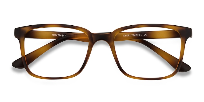 Tortoise November -  Lightweight Plastic Eyeglasses