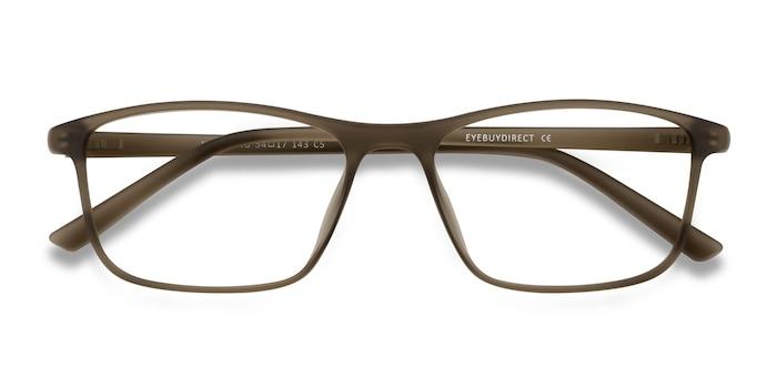 Matte Hazel Wyoming -  Plastic Eyeglasses