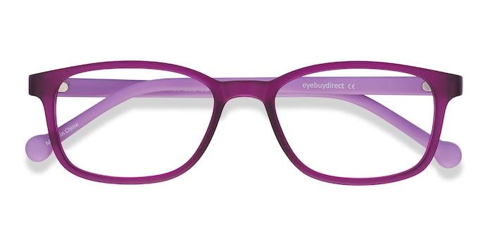 Purple Posie -  Lightweight Plastic Eyeglasses