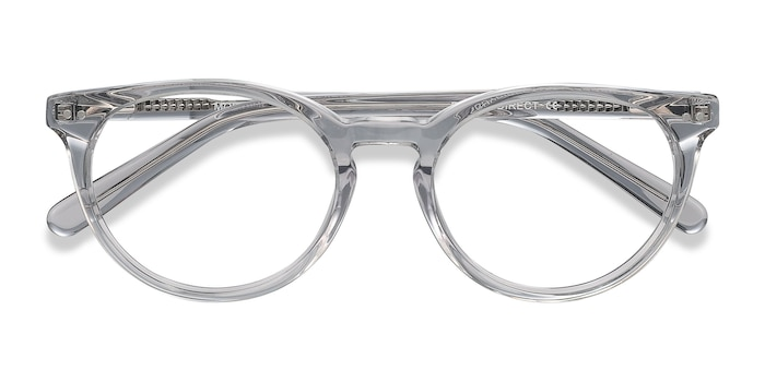 Gray Clear Morning -  Acetate Eyeglasses