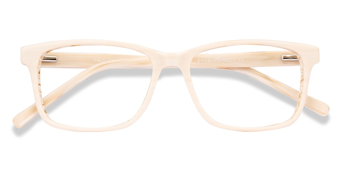 Cream Prologue -  Acetate Eyeglasses