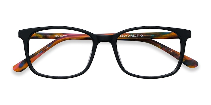Black Botanist -  Acetate Eyeglasses