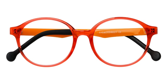 Clear Orange Daylight -  Plastic Eyeglasses