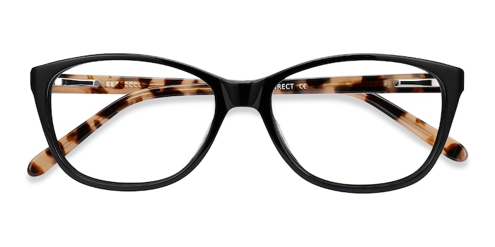 Black Masque -  Acetate Eyeglasses