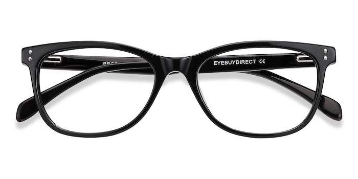 Black Prodigy -  Acetate Eyeglasses