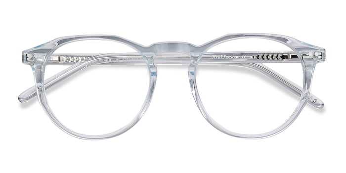 Clear Blue Planete -  Vintage Acetate Eyeglasses