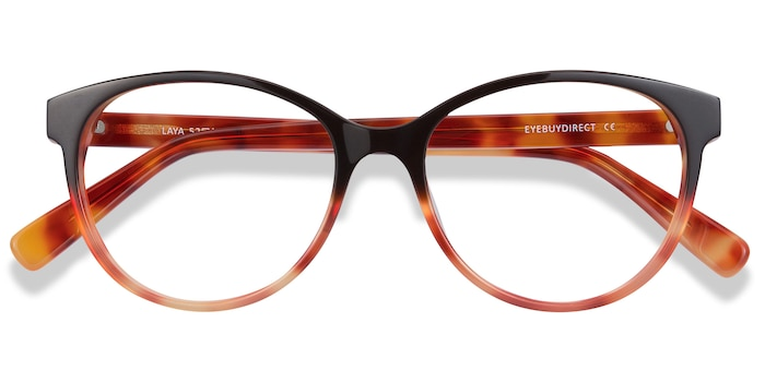 Red Tortoise Laya -  Acetate Eyeglasses