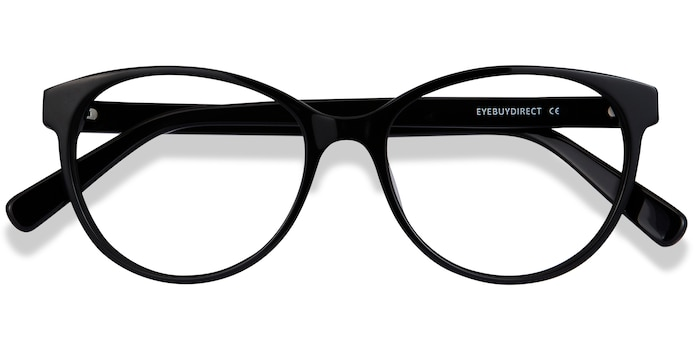 Black Laya -  Acetate Eyeglasses