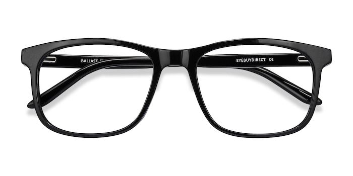 Black Ballast -  Acetate Eyeglasses