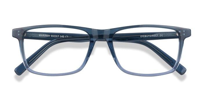 Clear Blue Mariner -  Acetate Eyeglasses