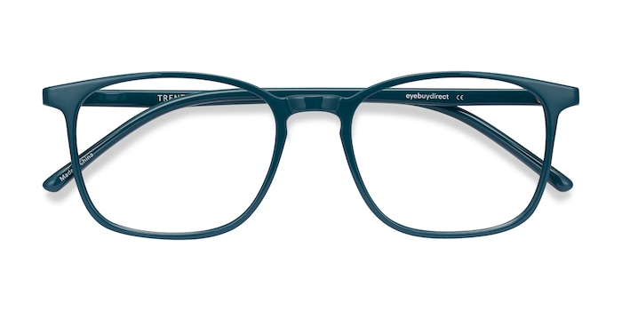 Green Trenton -  Colorful Plastic Eyeglasses