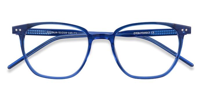 Blue Regalia -  Lightweight Acetate Eyeglasses