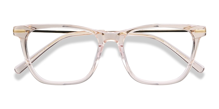 Rose Gold Sebastian -  Fashion Acetate, Metal Eyeglasses