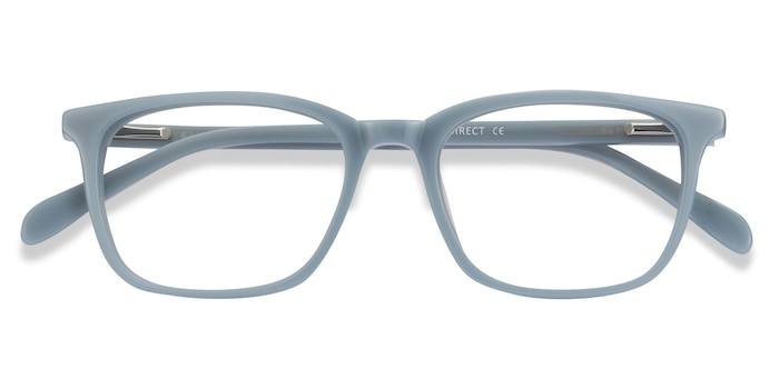 Blue Etched -  Acetate Eyeglasses