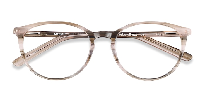 Striped Messenger -  Acetate Eyeglasses