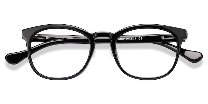 Black Keen -  Acetate Eyeglasses