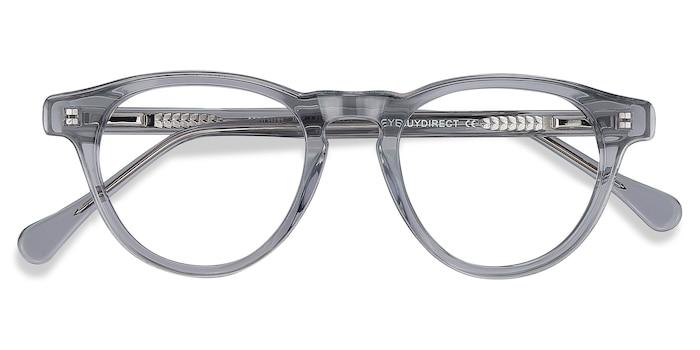 Clear Gray Marine -  Acetate Eyeglasses