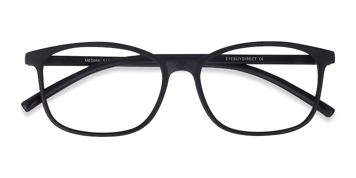 Black Median -  Plastic Eyeglasses