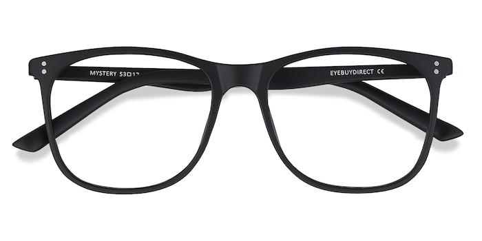 Black Mystery -  Lightweight Plastic Eyeglasses