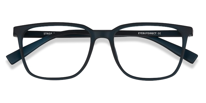 Navy Stride -  Plastic Eyeglasses