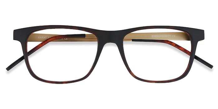 Tortoise Karat -  Metal Eyeglasses