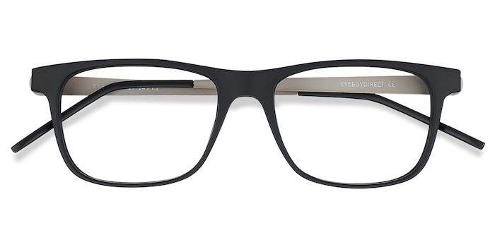 Black Karat -  Lightweight Metal Eyeglasses