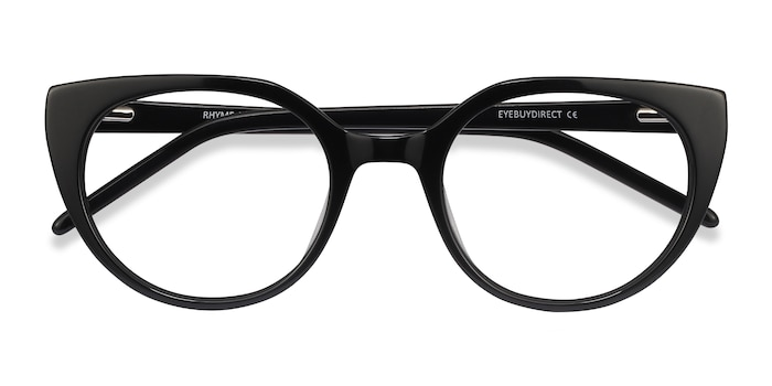 Black Rhyme -  Vintage Acetate Eyeglasses