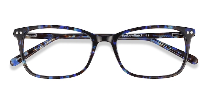 Blue Floral Alette -  Fashion Acetate Eyeglasses