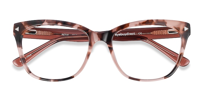 Pink Tortoise Petal -  Colorful Acetate Eyeglasses