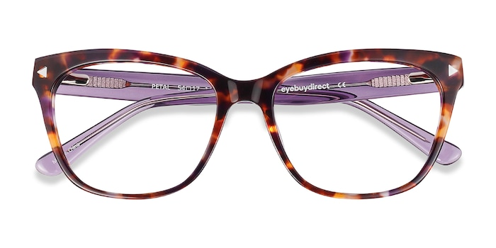 Purple Tortoise Petal -  Fashion Acetate Eyeglasses