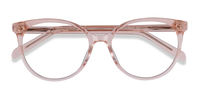 Clear Pink Nala -  Colorful Acetate Eyeglasses