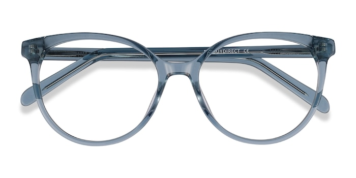 Clear Blue Nala -  Fashion Acetate Eyeglasses