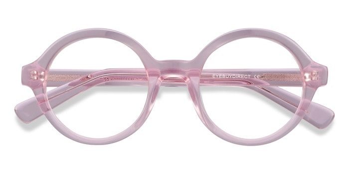 Pink Groove -  Colorful Acetate Eyeglasses
